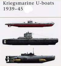 Немецкие подводные лодки времен Второй мировой войны