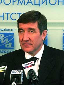 Юрий Шафраник, фотография ПРАВДА.ру