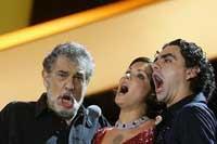 Великолепное трио: Доминго, Нетребко и Виллазон