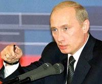 К началу пресс-конференции Путина уже всё готово