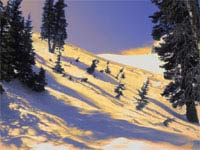Оранжевый снег оказался железным