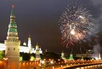 Более миллиона человек праздновали Победу на улицах Москвы