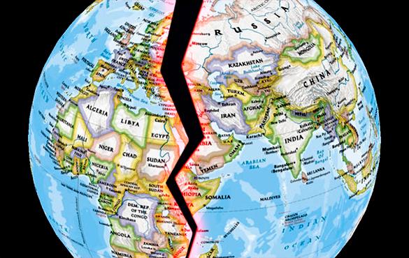 политической карты мира