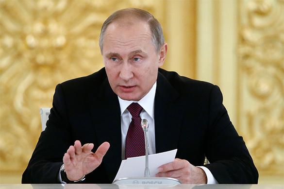 Путин: Опускаться до уровня кухонной дипломатии Россия не будет