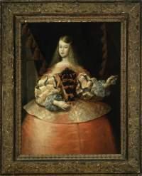 Портрет инфанты Маргариты Терезы Испанской (1651-1673). Картина