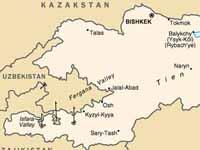 В Киргизии идет ликвидация последствий сильного землетрясения