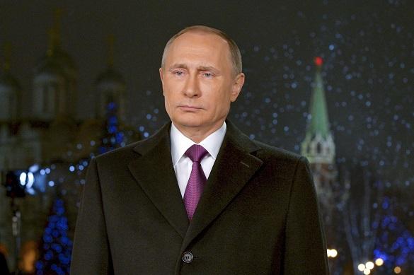 В новогоднем обращении Владимир Путин пожелал россиянам мира и благополучия