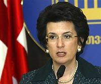 Бурджанадзе потребовала от России разъяснений по Кодори
