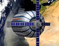 Прототип надувного космического модуля для космической гостиницы