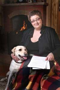 Татьяна Устинова большая поклонница собак