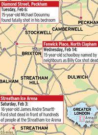 В Лондоне отмечена серия необъяснимых убийств подростков