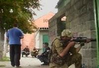 В Грозном произошел бой с террористами