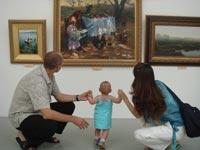 Русские художники представили «Высокий реализм»