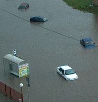 Москва может уйти под воду