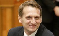 Новым вице-премьером назначен Сергей Нарышкин