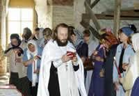 Крестный ход «Под звездой Богородицы» движется из Владивостока в