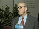 Глава международной миссии ООН по разоружению Ирака Ханс Бликс