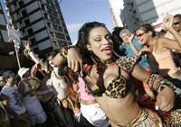 Карнавал в Рио-де-Жанейро начинается с Короля