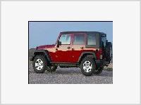 Шпионские снимки пятидверного Jeep Wrangler 2007