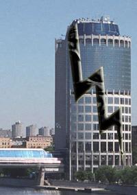 Трещина в фундаменте одной из высоток Москва-Сити