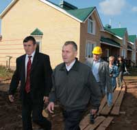 Николай Шаклеин взял под особый контроль ход строительства жилья