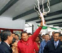 Во время визита в Малазию в 2006 году  президенту Венесуэлы Уго