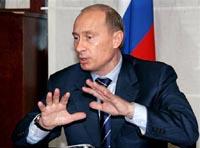 Путин благодарит Ющенко за окончание газового спора