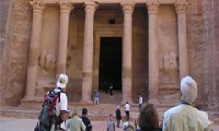 Петра «заговорила» с туристами (ФОТО)