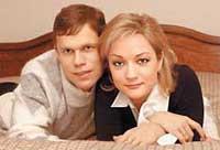 с мужем Владиславом Радимовым
