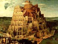 Вавилонская башня. Художник Питер Брейгель