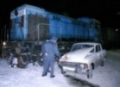 Под Санкт-Петербургом «Жигуленок» атаковал поезд