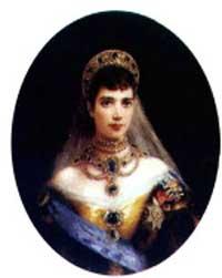Императрица Мария Федоровна. Портрет К. Маковского