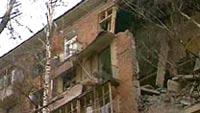 В Москве в результате обрушения стены дома погибла женщина