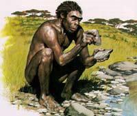 Homo habilis. Реконструкция