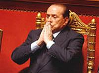 Берлускони неприятно удивил Вашингтон