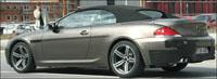 «Заряженный» кабриолет BMW M6