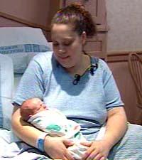Женщина забеременела и родила за 36 часов