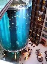 Гигантский аквариум в Берлине