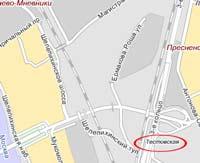 В центре Москвы обрушился мост