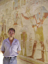 Абидос. Во внутренних помещениях храма Сети I. 13 в до н.э.