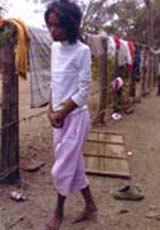 Девушка-маугли обнаружена в Камбодже