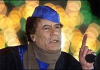 Муаммар Каддафи, Ливия