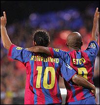 Футболисты выбрали Роналдиньо