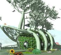 Люди будут выращивать дома на деревьях