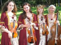 Оркестр «Глобалис» на руинах Колизея