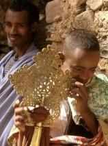 В Эфиопии пышно празднуют Крещение