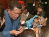 Чавес экспортирует социализм в США