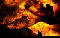 Крупный пожар в Бангладеш