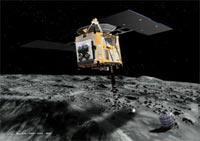 Японский аппарат Hayabusa не смог приземлиться на астероиде