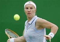 Теннис: Светлана Кузнецова прославляет Россию